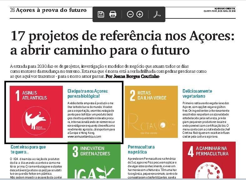 17 projetos de referência nos açores: a abrir caminho para o futuro